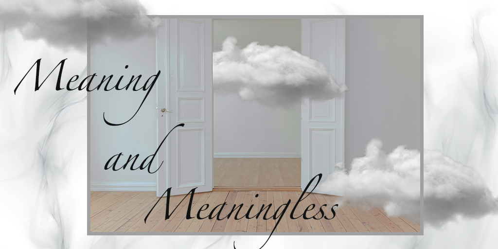 Meaning and Meaningless